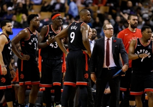 Οι Raptors είναι κυριολεκτικά 'defending champions'