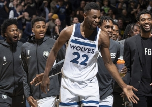 H βελτίωση του Andrew Wiggins