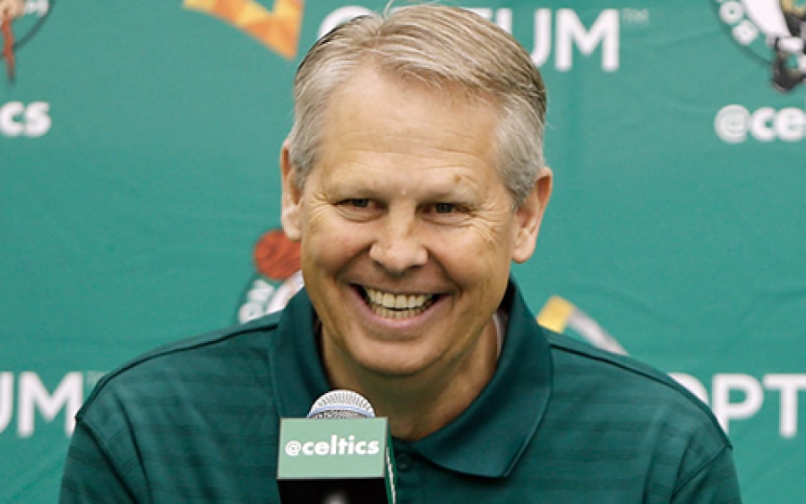 Danny Ainge trusts the Process